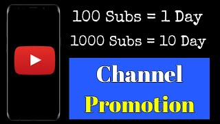 1000 Subscribers | Promote YouTube Channel Free | Grow YouTube Channel Fast