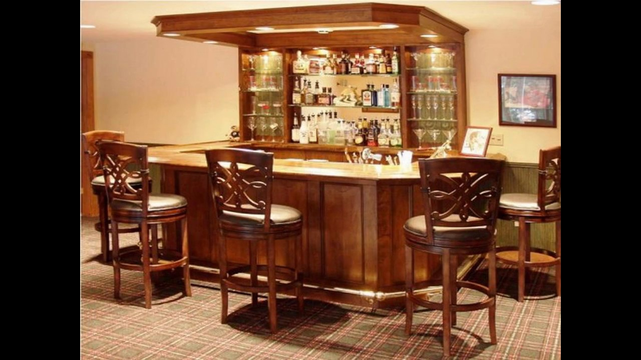 Ideas de dise o de bar para la casa youtube - Decoracion de bares pequenos ...