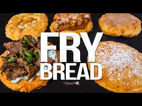 The Ultimate Fried Fair Food - Fry Bread 5 Ways | SAM THE COOKING GUY 4K