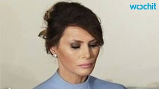 Sad Melania Trump Photos Lead To Meme