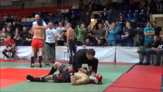 Martin Jaroš amateur MMA fight