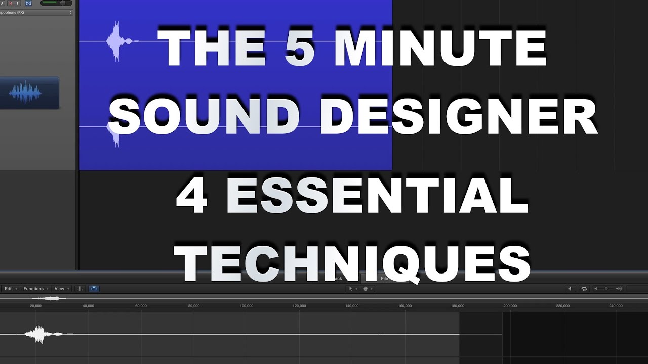 Video Game Sound Design Tutorial - 4 Essential Techniques