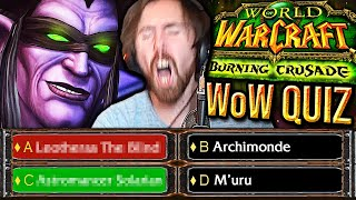 NOT PREPARED! Asmongold VS Ultimate Classic TBC WoW Quiz