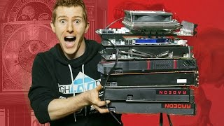 10 years of amd video cards benchmarked