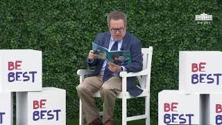 White House Easter Egg Roll Reading Nook - Administrator Andrew Wheeler