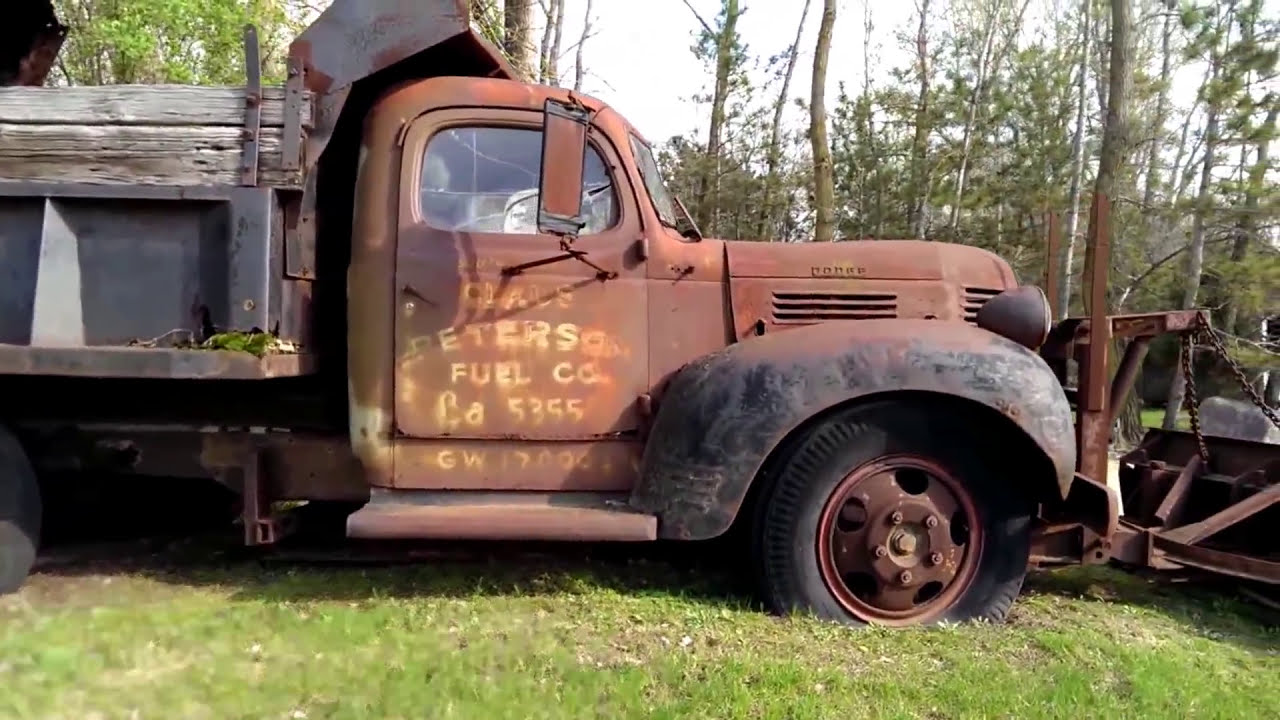 Old Trucks - Rusted Relics ! (Harmonica Video) - YouTube