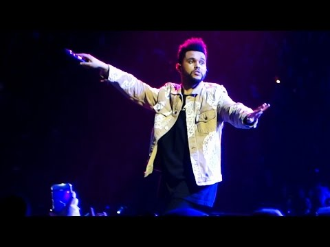 The Weeknd - I Feel It Coming Live @ AccorHotels Arena, Paris, 2017