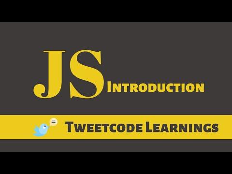 #1 JavaScript Tutorial for Beginners|Learn JavaScript|Introduction of Javascript|Tweetcode Learnings thumbnail