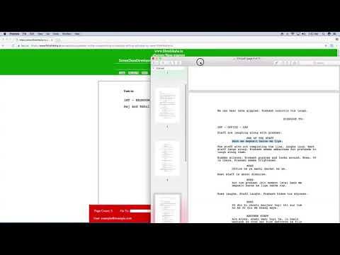 How to write a movie script online 2017 ? ScreenDocuDeveloper | tenth Tutorial