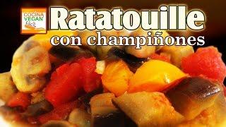 Ratatouille con champiñones
