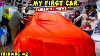 My First Car - Unveiling with family - Irfan's view
