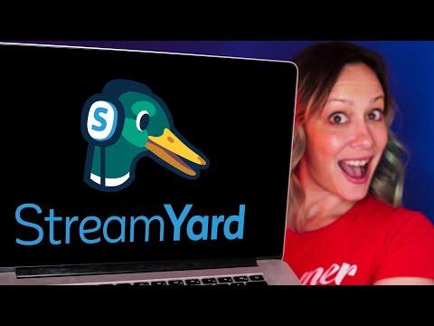 Host A Live Stream Show Easily: Streamyard Tutorial