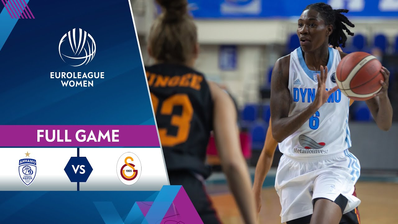 Dynamo Kursk v Galatasaray | Full Game - EuroLeague Women 2021-22