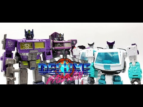 Generation Selects Shattered Glass Optimus Prime and Ratchet Review! by Deluxe Baldwin
