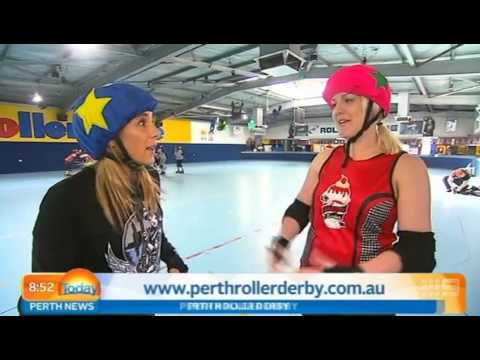 Roller Derby Part 2   Today Perth News