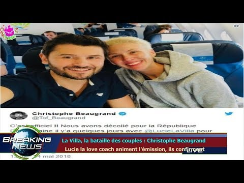 La Villa, la bataille des couples : Christophe Beaugrand   Lucie la love coach animent l'émiss