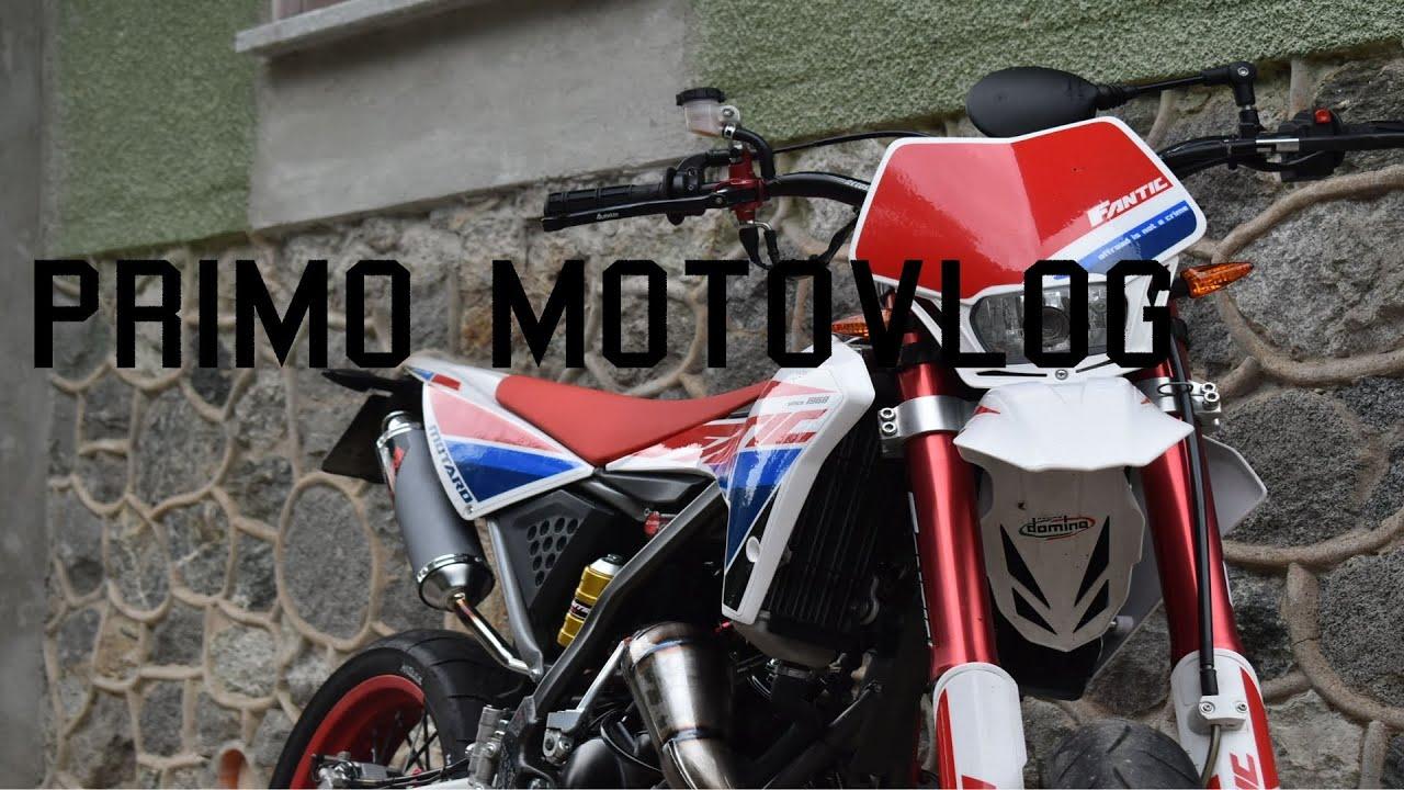 PRIMO MOTOVLOG| FANTIC 50 |
