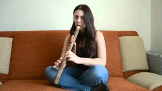 Обучение игре на пимаке. Флейта любви ,импровизация.