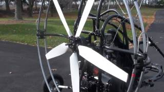 Propeller Spinner Thrust Test