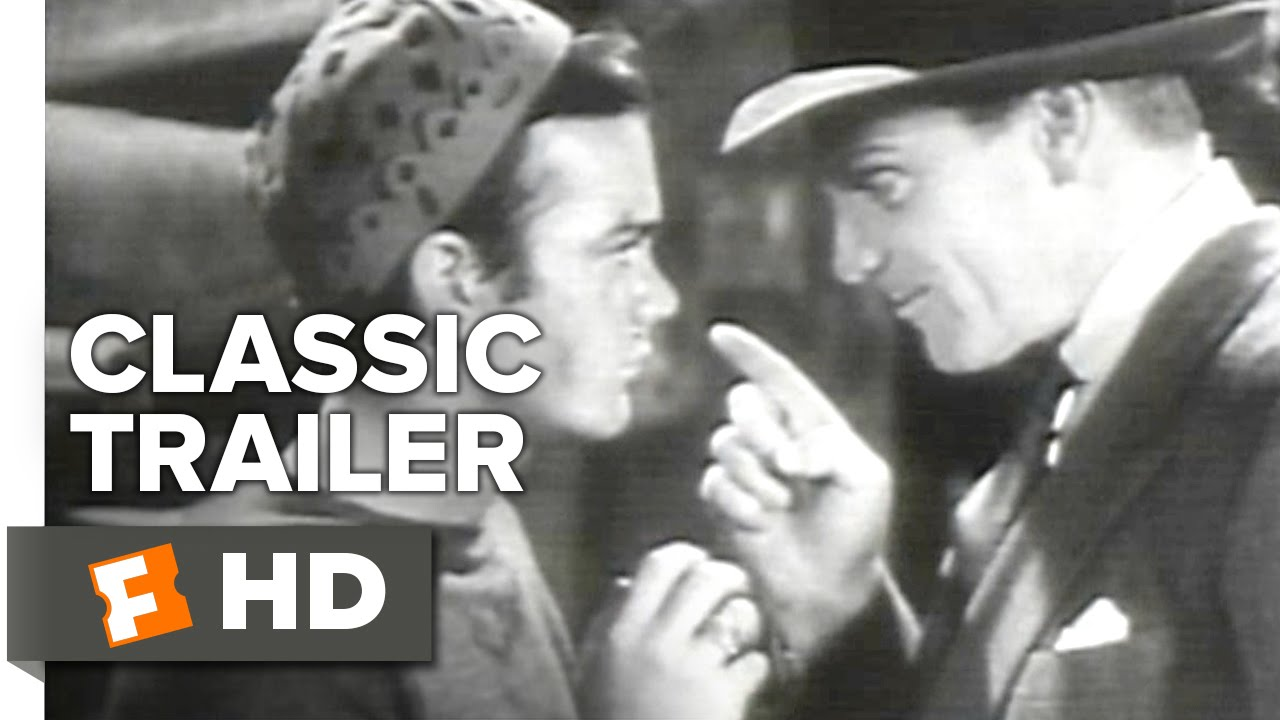Angels with Dirty Faces (1938) Official Trailer - James Cagney Movie