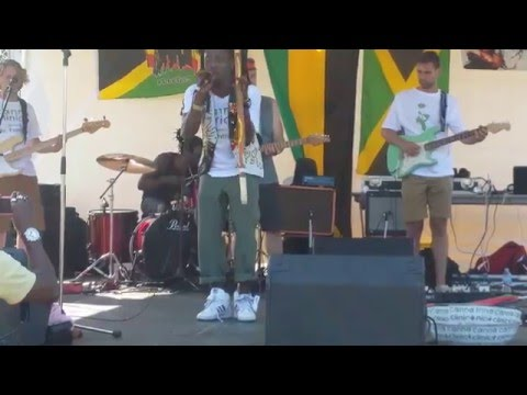 Ghana reggae dance hall rambo, Mr fantastik ,Surrey Jamaican fest 2015, full video