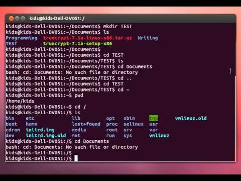 Linux Terminal Tutorial Episode  Back To Basics
