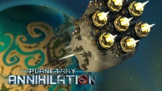 Planetary Annihilation - Introduction & General Informations [Gameplay/Alpha]
