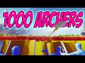 Totally Accurate Battle Simulator 1000 Archers - Totally Accurate Battle Simulator Gameplay