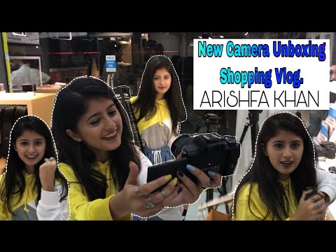 e804aa9b1 Shop With me | New Camera Unboxing Shopping Vlog | ARISHFA KHAN – Shopping  time
