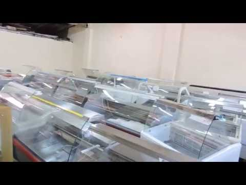 Холодильные витрины б/у в ассортименте