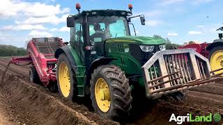 O'Gorman Brothers planting Rooster potatoes on the Carlow/Laois border