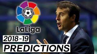 Will Lopetegui Get the Sack? La Liga Predictions (2018-19)