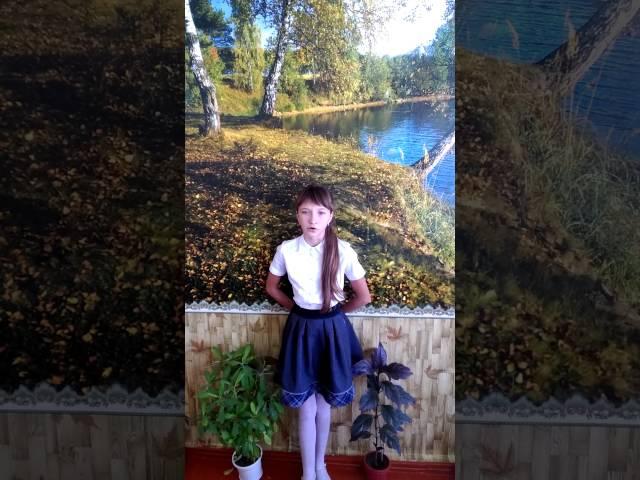Кретова Виктория читает произведение «Детство» (Бунин Иван Алексеевич)