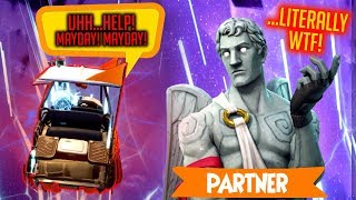 Crying and Screaming for 2 MINUTES Straight *PARTNER WAS FED UP* Fortnite: Battle Royale Highlight thumbnail