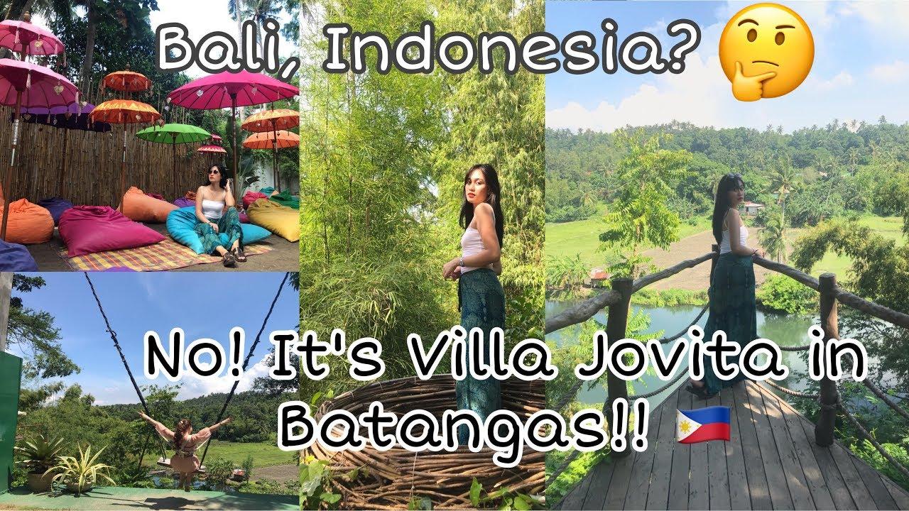 Travel Guide Sa Bali Inspired Resort Ng Batangas Youtube