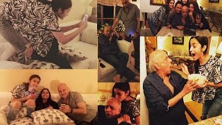 Alia Bhatt & Family Make Mahesh Bhatt's Birthday Special
