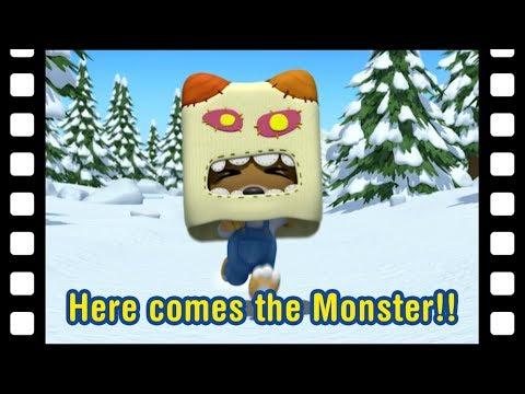 Here comes the Monster!! (40min)   Kids movie   Animated Short   Pororo mini movie