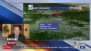 Early morning earthquake | Breaking news