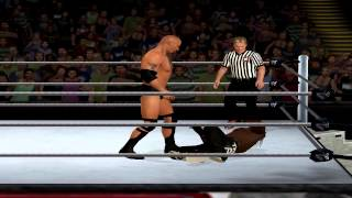 WWE 13 PC The Rock Finishers