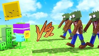 Minecraft: PLANTAS VS ZUMBIS NO MINECRAFT!! ‹ DONAT3LO ›