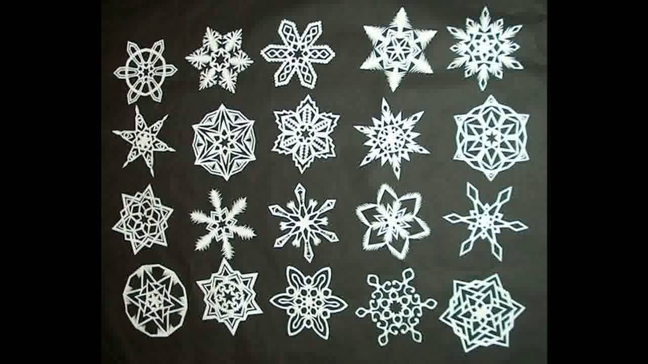 Make paper christmas decorations snowflakes - Make Paper Christmas Decorations Snowflakes