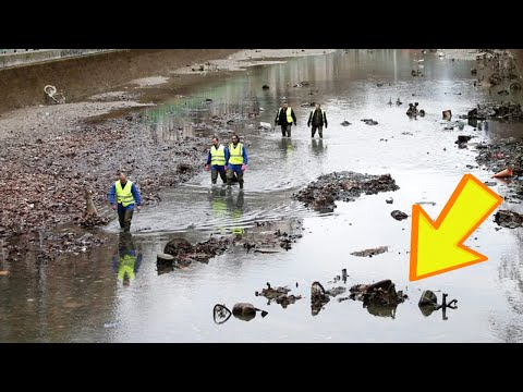 A Canal in Paris Was Drained for the First Time in Decades and What Was Found Was Really Bizarre