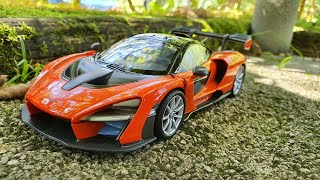 1:24 MotorMax *NEW* McLaren Senna metallic-orange
