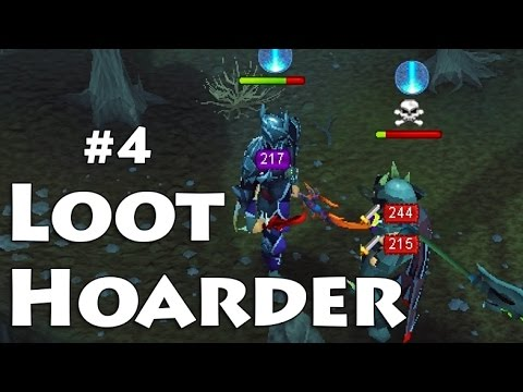 Loot Hoarder – Runescape Pking – DDS and 350M!