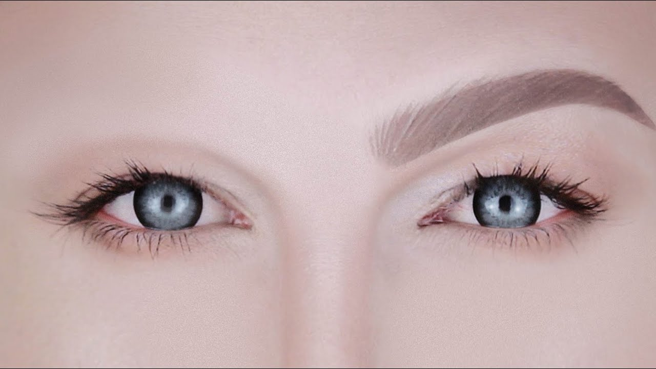 How To Draw On Eyebrows The Joseph Harwood Brow Youtube