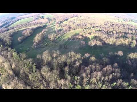 Longcliffe Quarry DJI Phantom FPV