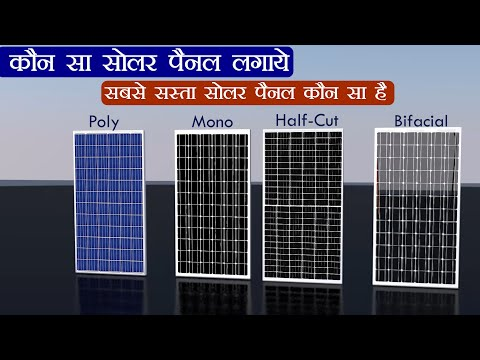 Solar Panel Types in Hindi | Solar Panel Price | Best Solar Panels
