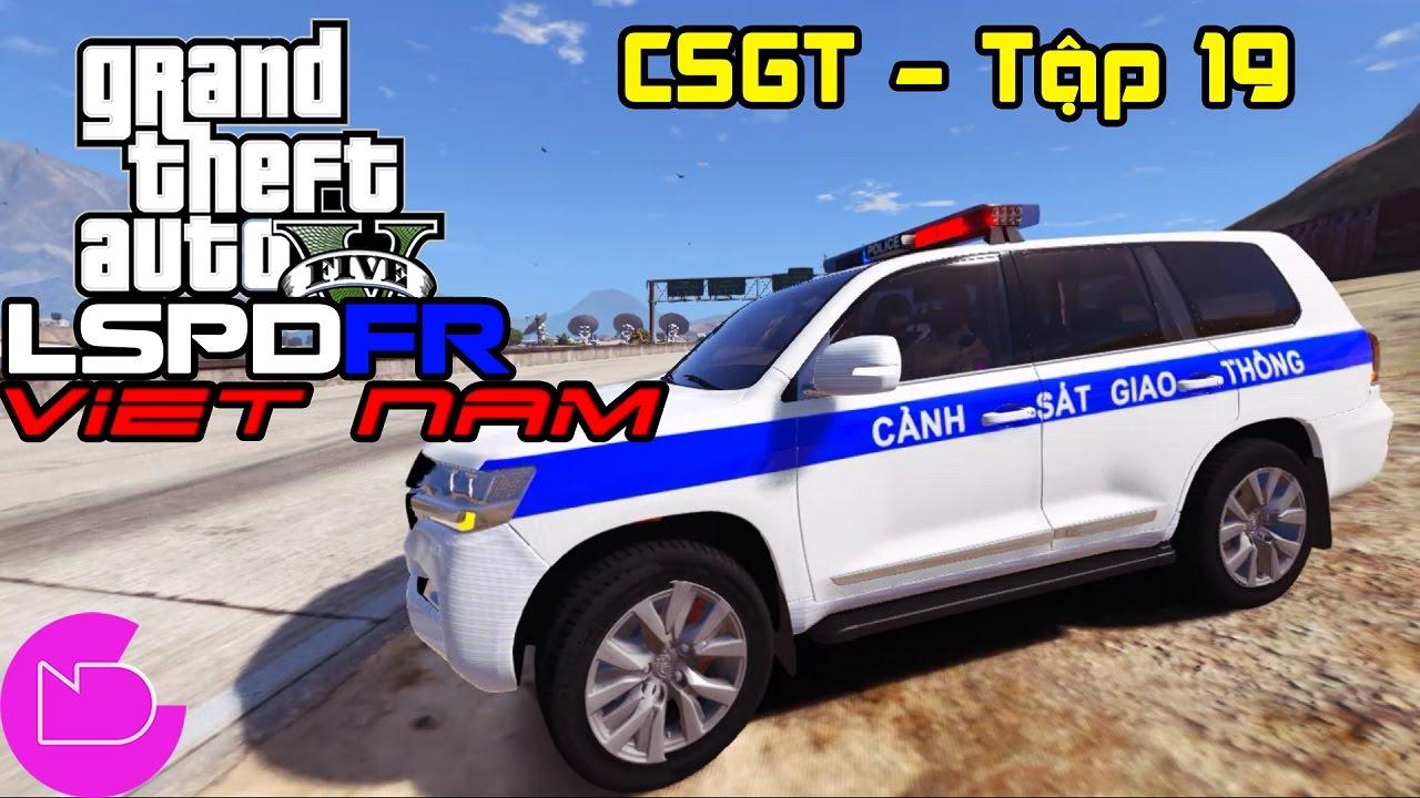 GTA 5 LSPDFR Tập 19 – CSGT truy bắt tội phạm gây tai nạn rồi bỏ trốn | ND Gaming