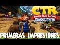 Crash CTR Nitro Fueled - (Mis Primeras Impresiones) ¡ESTÁ INCREÍBLE!