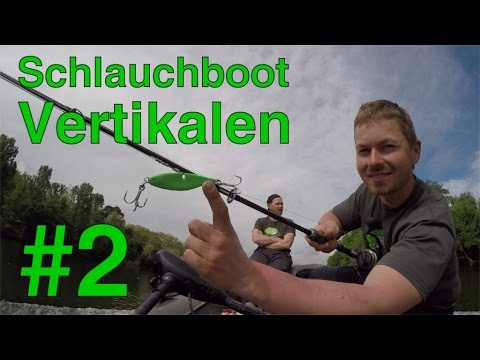 Waller-Vertikalen Mit Dem Schlauchboot #2 | Tipps + Vertical Jig Action | Www.zeck-fishing.com